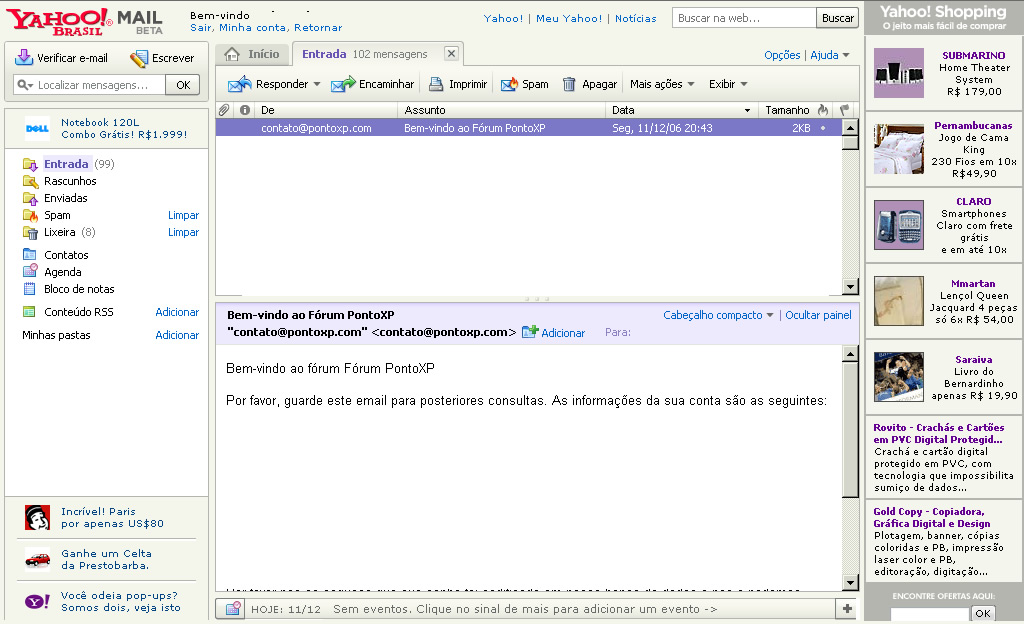 yahoo mail login screen - photo #35