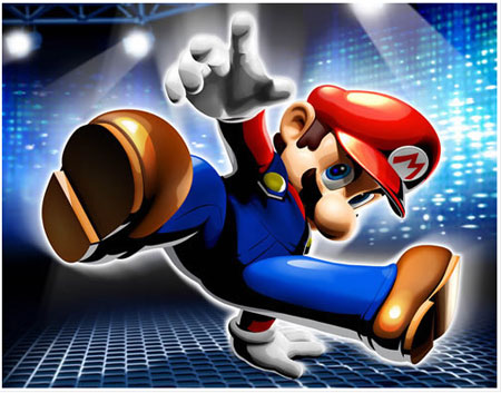 Games on Wallpapers Games Super Mario Wallpapers De Games Sele    O Com 80