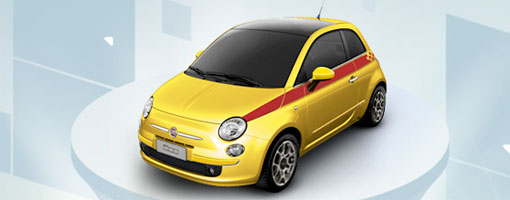Novo Fiat 500 2010 - Fotos, Preço e Informações