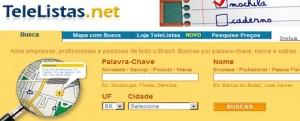 Lista Telefônica Online - TeleListas
