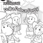 Backyardigans Para Colorir