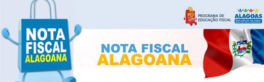 NOTA FISCAL ALAGOANA - AL, Cadastro, Consulta de Créditos e Sorteios