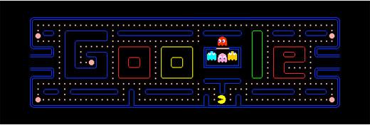 Doodles Pacman - Homenagem da Google para Pac Man saiu mais caro do que parece