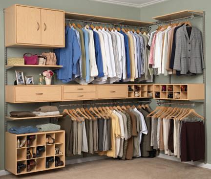 Seu guarda roupa sempre limpo e organizado - Ideas para armarios empotrados ...