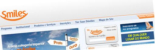 SMILES - PROGRAMA DE MILHAGEM SMILES - GOL, VARIG - WWW.SMILES.COM.BR