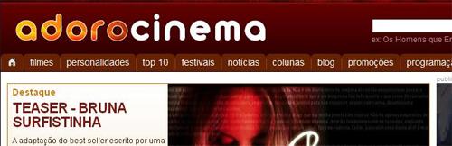 ADORO CINEMA - TUDO SOBRE FILMES - WWW.ADOROCINEMA.COM
