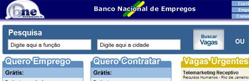 BANCO NACIONAL DE EMPREGOS – VAGAS DE EMPREGO – www.BNE.com.br ... af48d7856d9