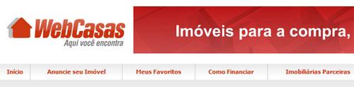 WEBCASAS - CASAS À VENDA - ALUGUEL DE IMÓVEIS - WWW.WEBCASAS.COM.BR