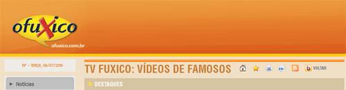 O FUXICO - NOVELAS, FOFOCAS, FAMOSOS, TV FUXICO - WWW.OFUXICO.COM.BR