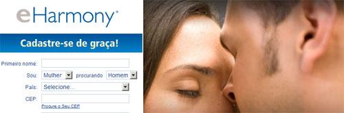 EHARMONY BRASIL - WWW.EHARMONY.COM.BR - SITE DE RELACIONAMENTO