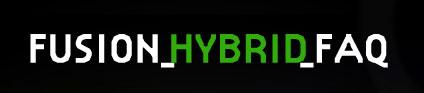 FUSION HYBRID FAQ - FORD FUSION HÍBRIDO - WWW.FUSIONHYBRIDFAQ.COM.BR
