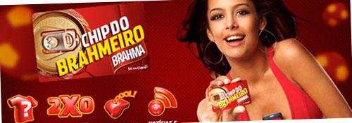 CHIP DO BRAHMEIRO - BRAHMA.COM.BR/CHIP