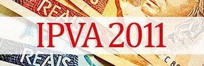 IPVA 2011 - TABELA, VALORES, CALENDÁRIO