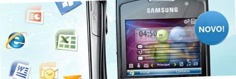 MESSENGER PHONE - PREÇO, COMPRAR - SAMSUNG OMNIA PRO 652