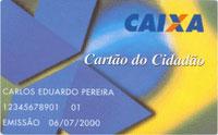 CARTÃO CIDADÃO - PIS, CAIXA, CONSULTA PELA INTERNET, FGTS
