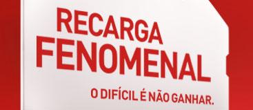 RECARGA FENOMENAL CLARO PROMOÇÃO