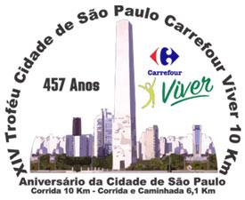 XIV TROFÉU CIDADE DE SÃO PAULO CARREFOUR VIVER 10 KM