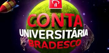 APLICATIVO BRADESCO UNIVERSITÁRIOS - CONTA UNIVERSITÁRIA