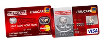 CARTÃO AMERICANAS ITAUCARD - WWW.CARTAOAMERICANAS.COM.BR
