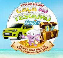 PROMOCAO CACA AO TESOURO PURITY PROMOÇÃO CAÇA AO TESOURO PURITY   WWW.PURITY.COM.BR