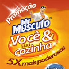 PROMOÇÃO MR. MÚSCULO - VOCÊ E SUA COZINHA - WWW.PROMOCAOMRMUSCULO.COM.BR