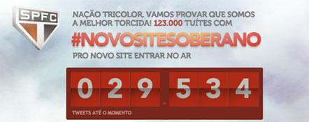 #NOVOSITESOBERANO - NOVO SITE SOBERANO - WWW.SAOPAULOFC.NET