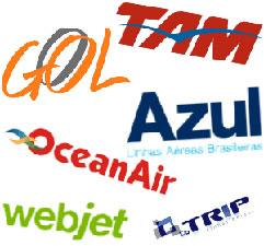 PASSAGENS AÉREAS EM PROMOÇÃO - GOL, TAM, AZUL, AVIANCA, TRIP