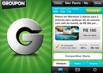 GROUPON - APLICATIVO PARA IPHONE