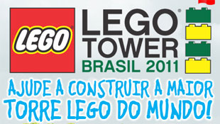LEGO TOWER BRASIL 2011 - TORRE DE LEGO