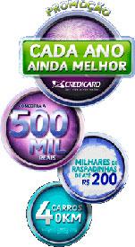 PROMOÇÃO CADA ANO AINDA MELHOR - CREDICARD - WWW.PROMO.CITI.COM.BR