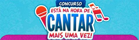 PROMOÇÃO ESTA NA HORA DE CANTAR MAIS UMA VEZ - MÃE MARAVILHA - PONTO FRIO