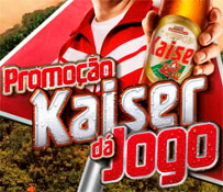 PROMOÇÃO KAISER DÁ JOGO!