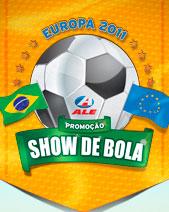 PROMOÇÃO SHOW DE BOLA - POSTOS ALE - WWW.SHOWDEBOLAALE.COM.BR