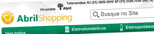 ABRIL SHOPPING - MELHORES PREÇOS - WWW.ABRILSHOPPING.COM.BR