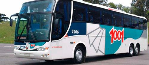 AUTO VIAÇÃO 1001 - PASSAGENS, HORÁRIOS, TELEFONE - WWW.AUTOVIACAO1001.COM.BR