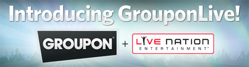 GROUPONLIVE - COMPRA COLETIVA INGRESSOS E SHOWS - WWW.GROUPONLIVE.COM