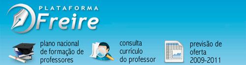 PLATAFORMA PAULO FREIRE - MEC