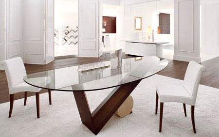 Sala de jantar decorada for Muebles italianos de lujo