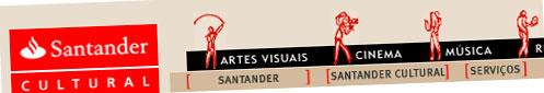 SANTANDER CULTURAL - WWW.SANTANDERCULTURAL.COM.BR