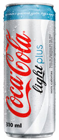 COCA-COLA LIGHT PLUS - WWW.COCACOLALIGHT.COM.BR