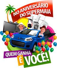 PROMOÇÃO ANIVERSÁRIO SUPER MAIA - WWW.SUPERMAIA.COM.BR