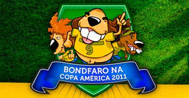 PROMOÇÃO BONDFARO NA COPA AMÉRICA 2011 - WWW.BONDFARO.COM.BR/COPA-AMERICA