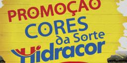 PROMOÇÃO CORES DA SORTE HIDRACOR - WWW.HIDRACOR.COM.BR