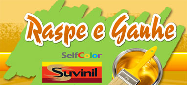 PROMOÇÃO RASPE E GANHE SUVINIL - WWW.RASPEEGANHESUVINIL.COM.BR