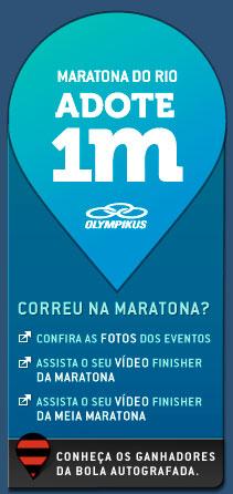 ADOTE 1 METRO - OLYMPIKUS, MARATONA DO RIO - WWW.ADOTE1METRO.COM.BR