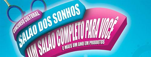 CONCURSO CULTURAL SALÃO DOS SONHOS - WWW.REVISTACABELOS.COM.BR