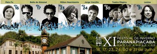 11º FESTIVAL DE INVERNO DE PARANAPIACABA - WWW.FIP2011.COM.BR