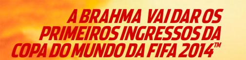 PROMOÇÃO BRAHMA COPA DO MUNDO 2014 - WWW.SOUBRAMEIRO.COM.BR