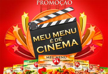 PROMOÇÃO MEU MENU É DE CINEMA - WWW.NETMOVIES.COM.BR/PERDIGAO