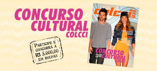 CONCURSO CULTURAL COLCCI - WWW.COLCCI.COM.BR